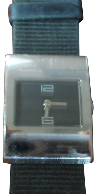 Item - Silver/Black Dial Women's Dress Model 4900l Keeps Accurate Time Swiss Made Watch