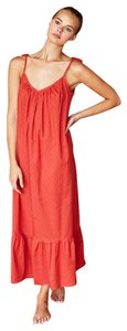 Red Maxi Dress by Emerson Fry Summer Maxi Boho Bohemian