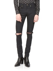Saint Laurent Skinny Jeans-Coated