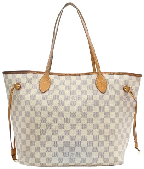 Preload https://img-static.tradesy.com/item/25309790/louis-vuitton-neverfull-damier-azur-mm-870569-white-coated-canvas-tote-0-2-540-540.jpg