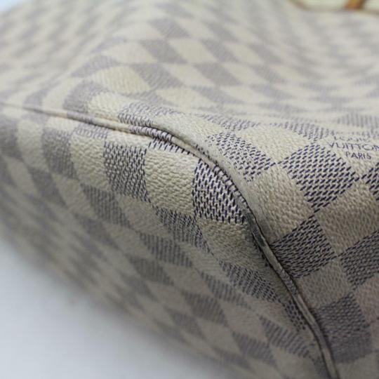 Louis Vuitton Neverfold Neverfill Neverfull Checker Neverfull Tote in white Image 6