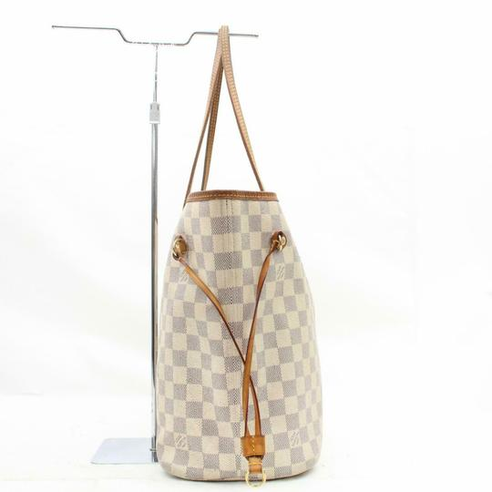 Louis Vuitton Neverfold Neverfill Neverfull Checker Neverfull Tote in white Image 7