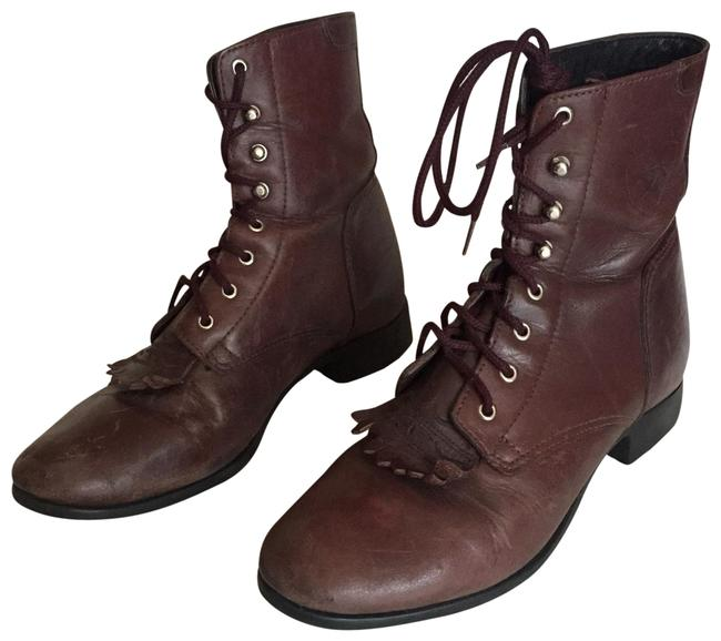 Item - Burgundy A1 Competitor Boots/Booties Size US 7.5 Regular (M, B)