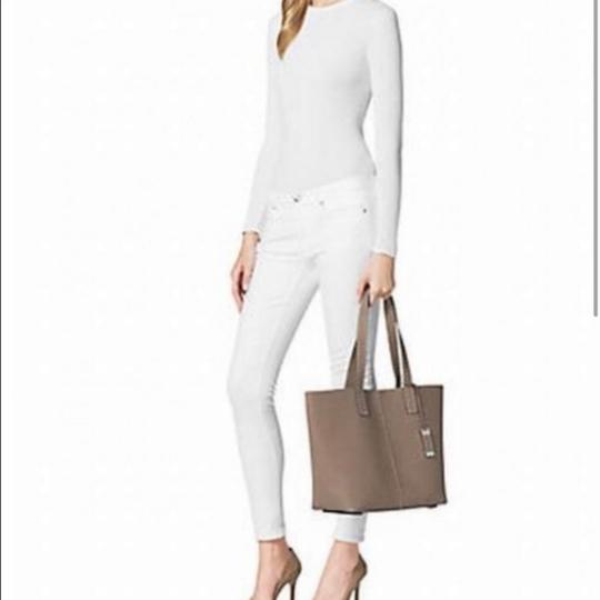 Michael Kors Collection Tote in Taupe Image 1