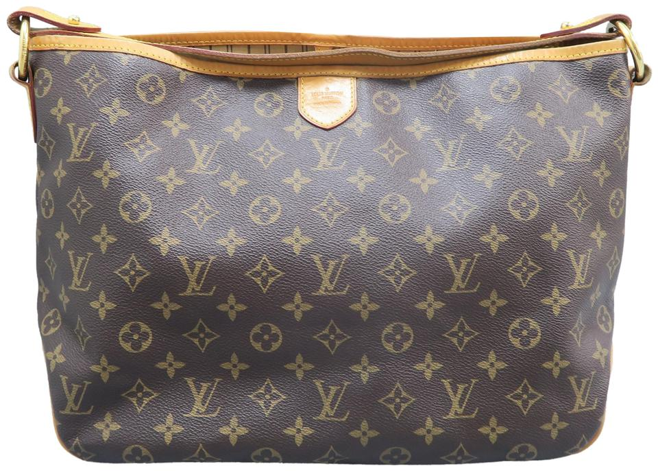 1a25ff92ff4 Louis Vuitton Delightful Pm Brown Monogram Canvas Hobo Bag