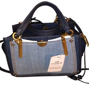 Coach Satchel in Denim