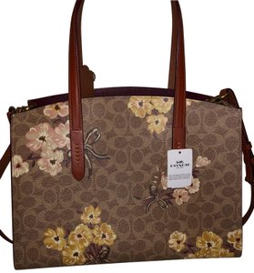 Coach Tote in Floral