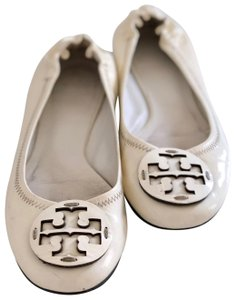 Tory Burch white/off white Flats