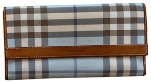 Burberry Coated Canvas Leather Check
