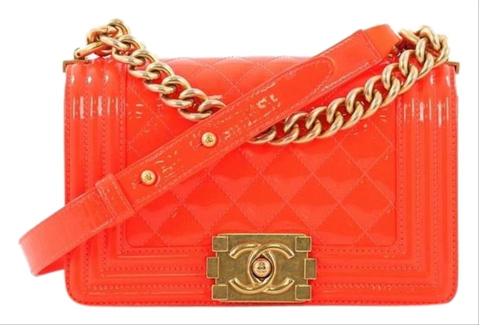 c37009a2064a Orange Chanel Bags - 70% - 90% off at Tradesy