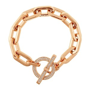 a63e8ae73448 Michael Kors NWT Pave Rose-Gold Toggle Bracelet MKJ4865791