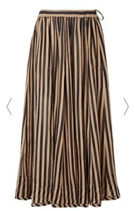 black, taupe Maxi Dress by ZIMMERMANN
