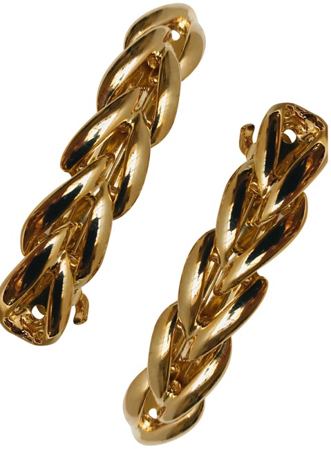 Item - Gold 2 Franch Barrette Made In France Hair Accessory