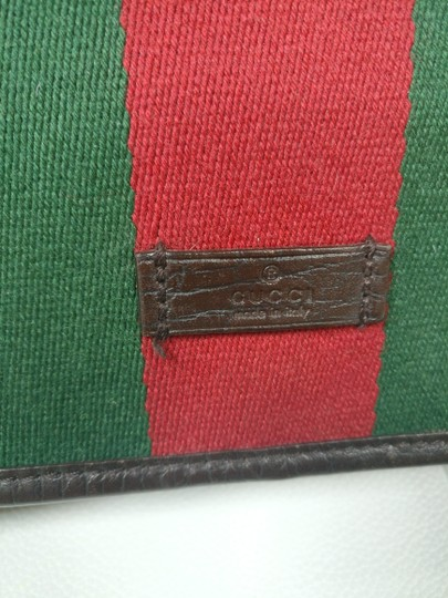 Gucci Web Messenger Gg Supreme Cross Body Bag Image 9