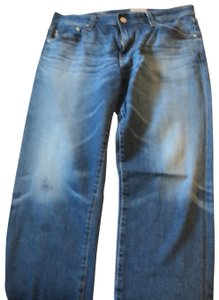AG Adriano Goldschmied Straight Leg Jeans-Acid