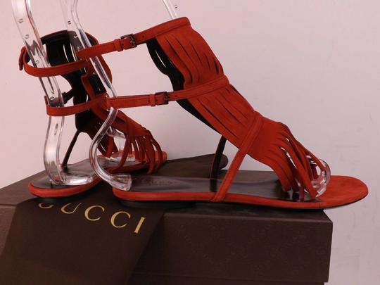 Gucci Red Sandals Image 8