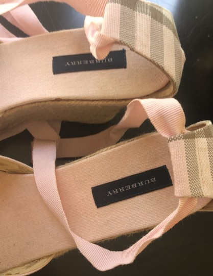 Burberry pink Wedges Image 8