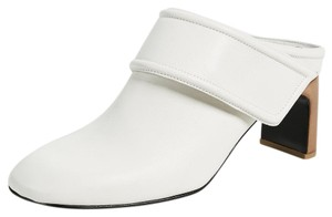 Rag & Bone Leather White Mules