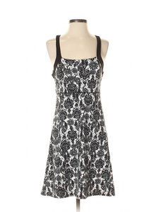 Soybu short dress Black/White Floral Active Athleisure on Tradesy