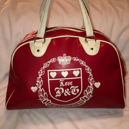 Juicy Couture red and white Travel Bag Image 1
