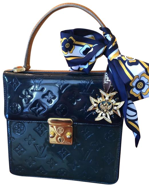 Item - Spring Street Only Sold In Europe Blue Teal Patent Leather Tote
