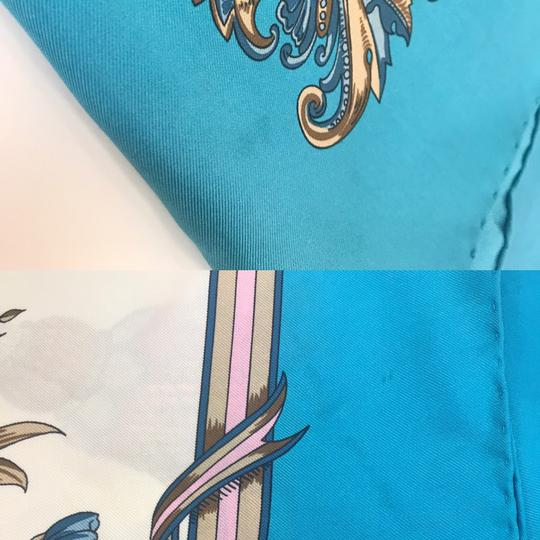 Gucci In stores now 2019 Gucci Silk Carre with Flowers and Tassel Silk Scarf Image 10