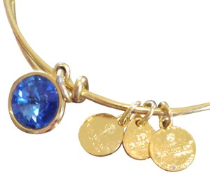Alex and Ani Gemstone blue