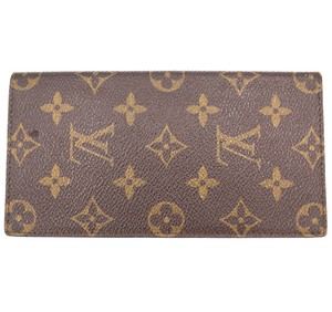 3b40296b4a4c Louis Vuitton monogram bifold long wallet checkbook holder bill cards