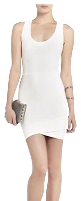 BCBGMAXAZRIA White Gisela Short Cocktail Dress Size 2 (XS) BCBGMAXAZRIA White Gisela Short Cocktail Dress Size 2 (XS) Image 1