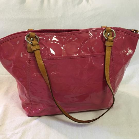 Coach Tote in Pink Image 5