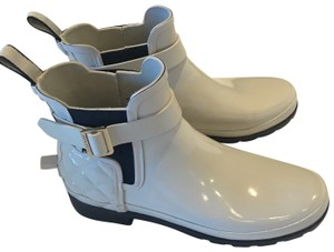 Hunter white Boots