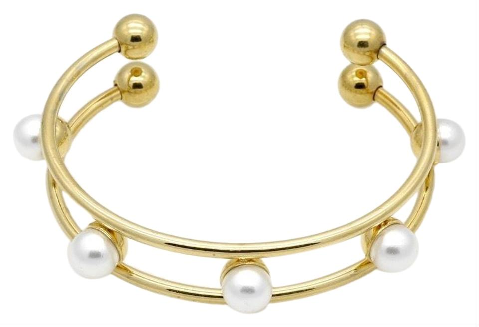 Gold Stainless Steel Fashion Pearl For Women Street Style