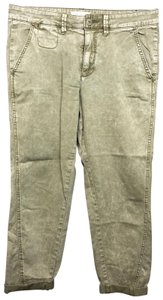Anthropologie Chino Relaxed Pants BROWN