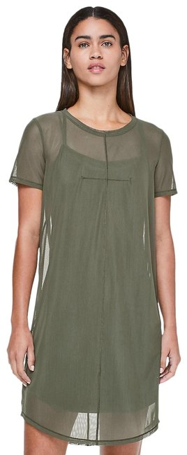 Item - Camo Green Ready To Reach Short Casual Dress Size 4 (S)