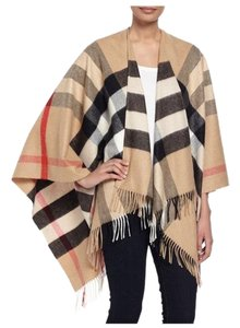 Burberry Burberry Collette Merino Wool&Cashmere Check Cape.