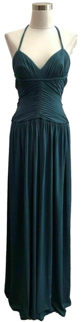 Item - Teal Blue XS N30 Designer Solid Long Casual Maxi Dress Size 0 (XS)