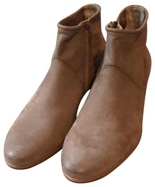 Paul Green Taupe Leather Boots/Booties Size US 8.5 Regular (M, B) Paul Green Taupe Leather Boots/Booties Size US 8.5 Regular (M, B) Image 1