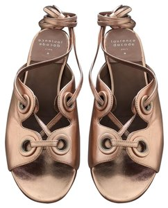 Laurence Dacade Rose Gold Sandals