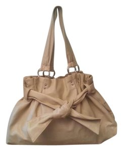 Nine West Satchel in buttercream