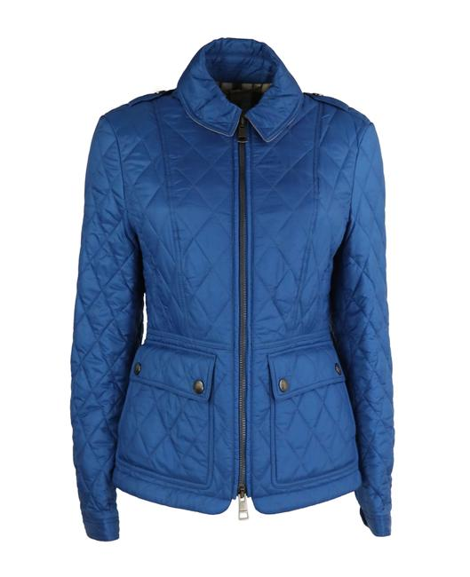 Item - Vibrant Blue Ivymoore Quilted Zip Jacket