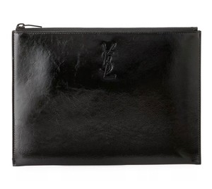 Saint Laurent Monogram Clutch / Tablet Holder / Pouch