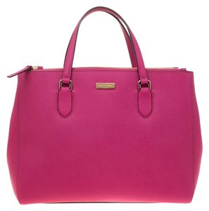 Kate Spade Leather Satin Shoulder Bag