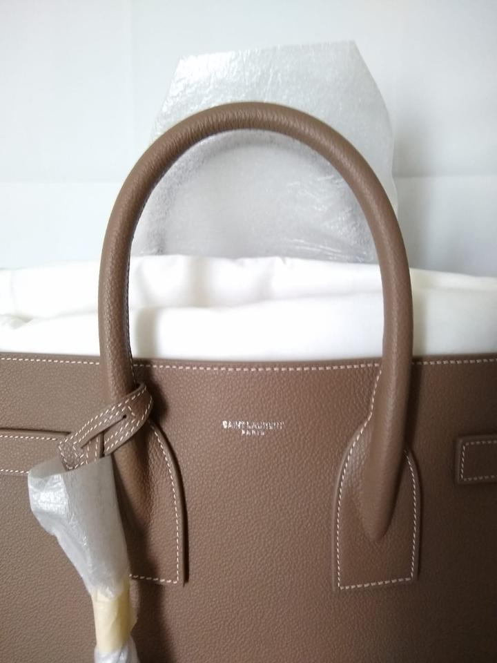 Size Sac In Bag Beige 20Off Retail Leather Cuir Saint Laurent G Shoulder De Jour K1lJcF