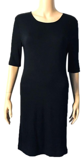 Preload https://img-static.tradesy.com/item/25317402/black-little-boat-neck-mid-length-casual-maxi-dress-size-6-s-0-1-650-650.jpg