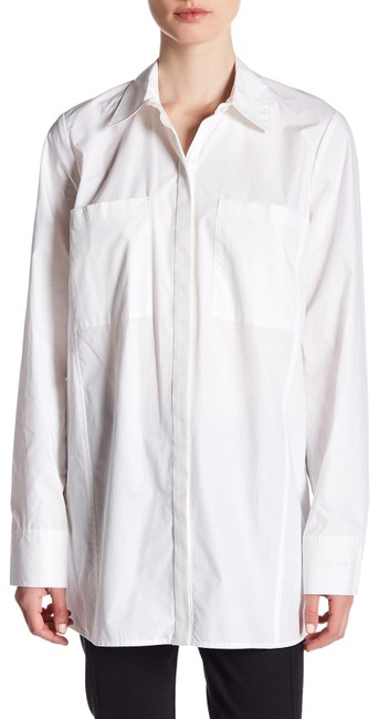 Preload https://img-static.tradesy.com/item/25317412/rachel-roy-white-solid-button-up-shirt-vented-sides-button-down-top-size-2-xs-0-1-650-650.jpg