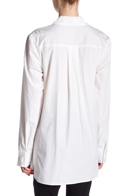 Rachel Roy Longsleeve Button Down Shirt white Image 1