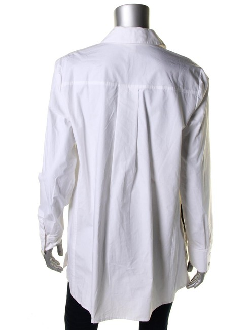 Rachel Roy Longsleeve Button Down Shirt white Image 3