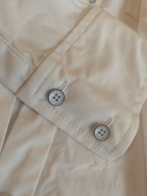 Rachel Roy Longsleeve Button Down Shirt white Image 5