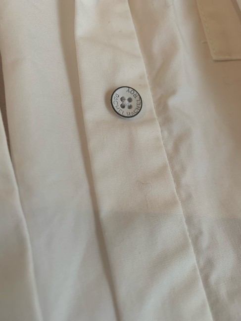 Rachel Roy Longsleeve Button Down Shirt white Image 6