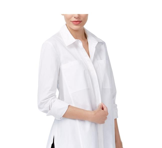 Rachel Roy Longsleeve Button Down Shirt white Image 7